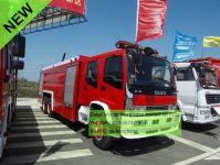 Isuzu ftr fire engine fire rescue tanker truck
