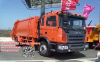 JAC 12000L Garbage Truck Container garbage truck 0086-13635733504