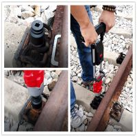 1200Nm railway maintain track construction powerful cordless torquewrench battery bolting tool rechargeable impact wrench
