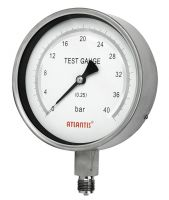 Precision Test Pressure Gauge (All Stainless Steel Type)