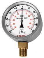 Stainless Steel Case Micro Pressure Gauge