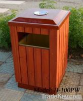 outdoor trash can   dustbin for public space
