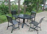 metal furniture set   garden table set