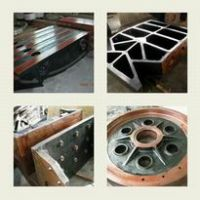 crusher steel casting parts