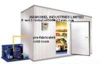 cold storage room for vegetables/meat