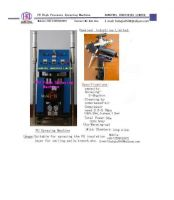 Polyurethane foam spraying machine