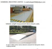 Electrical Floor scale for vehicles weighing