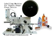 labelling  machine for glass bottles