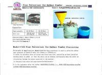 rubber fine pulverizer