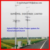solar/wind Hybrid Power System