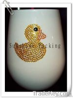 acrylic rhinestone sticker for decoration