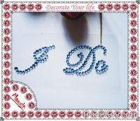I DO letter sticker for wedding shoes