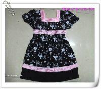 Charm Girl's Dress Set