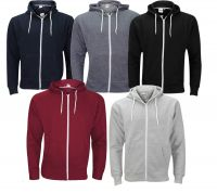 Men's Zip Up Hoodies - 5 New Colours. New Model 2017. This Top Quality Hoody.