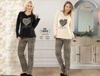 cute winter cotton pyjamas for women