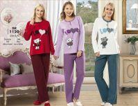 winter cotton pyjamas for women