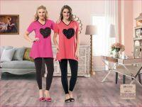 trendy summer cotton pyjamas for ladies