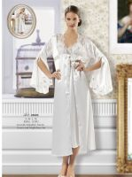 Elegant gown and nightdress set for ladies