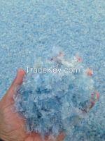 Pet Flakes Natural Blue Hot Washed
