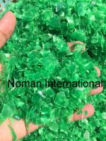 Pet Flakes Green Hot Washed