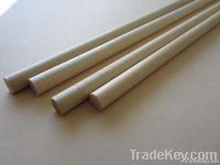Round wooden sticks for ice cream