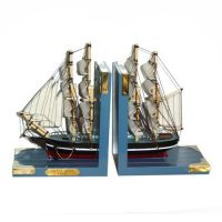 wooden sailing boat and