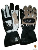 LionStar Racing Leather Motorbike Gloves