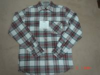 mens yarn dyed flannel shirt