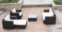 Woven PE Poly Aluminum Synthetic Rattan Wicker Furniture Sofa set outdoor furniture lounge garden set