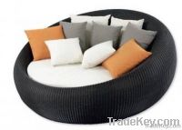 Wicker Rattan Lounge sun lounger daybed