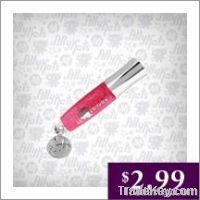 AllyKats Mini Lip Glosses with Charm - Pink