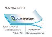 Alcopanel light - aluminum composite panel interior