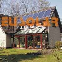 Flat plate solar collector-Eusolar