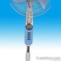 emergency AC/DC / Solar fan , rechargeable fan with battery