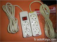 Europe extension socket, german extension socket, power socket