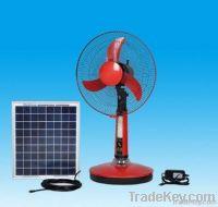12V16A?16 inches) solar fan Rechargeable Fan