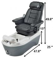 Anzio pedicure chair