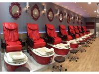 Nail salon spa and chair