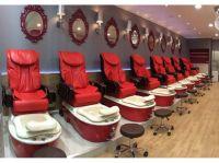 Nail salon spa and chair