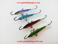 2016 New arrive 4colors Ice Fishing Jig Head 18g Jigging Ice jig Rap Lure With Red Treble Hook For Winter Fishing Lures