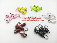 2016 latest new arrive 6colors Top quality lead ice jig hooks ice fishing lures  for winter