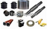 Spare parts for concrete pumps and transit mixers