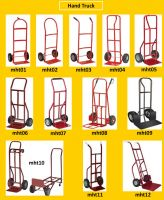 hand truck and custom racks