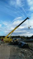 FUWA 50t telescopic boom crawler crane