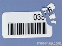 Destructible labels