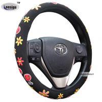 Girl steering wheel cover