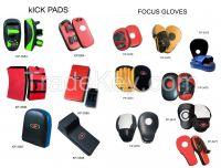 Focus Mitts, Coaching Gloves, Thai Pads