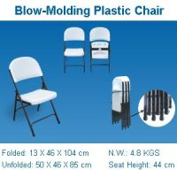 Blow Molding Folding Chair