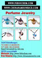 Murano Glass Perfume Bottle Nacklace