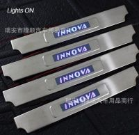 LED Door sills for  INNOVA Toyota 2012